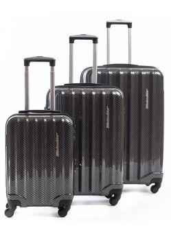 Set de 3 valises rigides 4 roulettes Selecta CB Metzelder