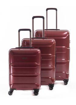 Set de 3 valises rigides 8 roulettes Triomphe Metzelder