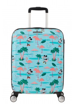 Valise Cabine Rigide 8 roulettes Funlight Disney American Tourister