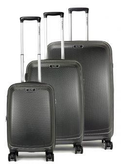 Set de 3 valises rigides 8 roulettes Elite