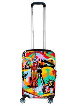 Valise cabine rigide 4 roulettes The American Way BG Berlin