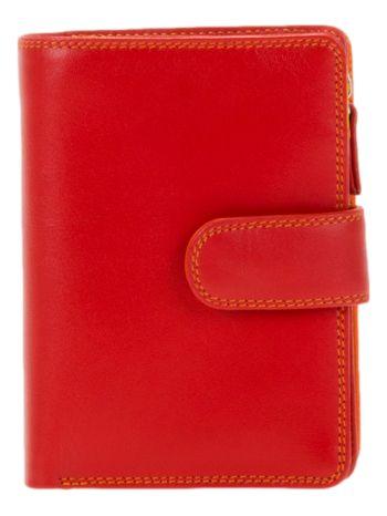 Portefeuille medium à 3 volets Mywalit rouge