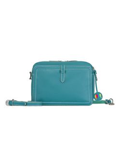 Sac Dubaï Crossbody Mywalit turquoise