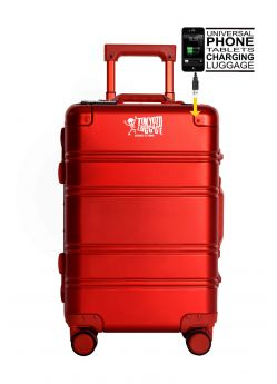 Valise cabine rigide 8 roulettes Small Logo + Power Bank Tokyoto Luggage