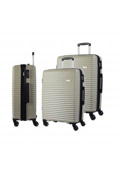 Set de 3 valises rigides 8 roulettes Bora Bora Verage