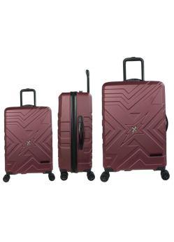 Set de 3 valises rigides 8 roues Hurghada Rock The Street