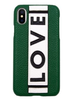 Coque pour Iphone X/Xs Green Love Iphoria