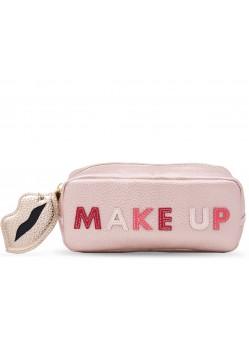 Trousse maquillage  Make Up Rosa Iphoria avec mini Powerbank ( 2600mAh)