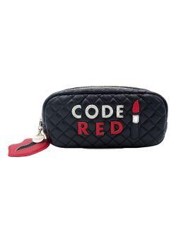 Trousse maquillage Code Red Lipstick Iphoria avec mini Powerbank ( 2600mAh)