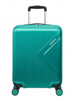 Valise Cabine 8 roulettes Modern Dream American Tourister emerald green