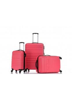 Set de 3 valises Rigides 4 roulettes New Rose Little Marcel