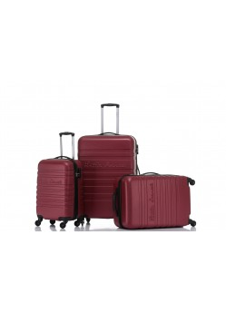 Set de 3 valises Rigides 4 roulettes New Vin Little Marcel