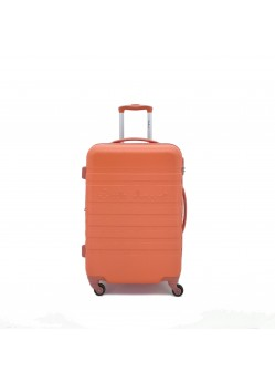 Valise 65 cm Rigide 4 roulettes Orange Little Marcel