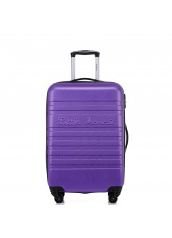 Valise 65 cm Rigide 4 roulettes New Violet Little Marcel