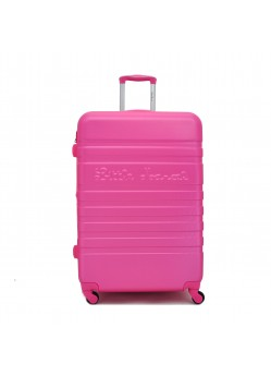 Valise 75 cm Rigide 4 roulettes Rose Little Marcel