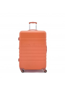 Valise 75 cm Rigide 4 roulettes Orange Litlle Marcel