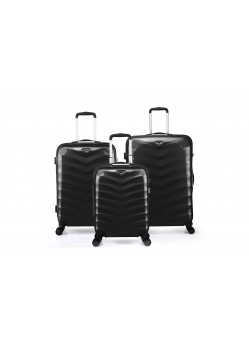 Set de 3 valises rigides 8 roulettes Verage