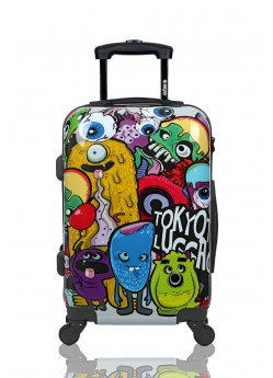Valise cabine Rigide 4 roulettes Monsters& Zombies Tokyoto Luggage