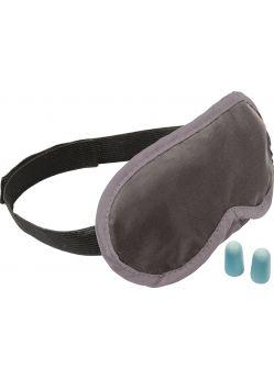 Masque de sommeil + Bouchons d'oreilles Go Travel