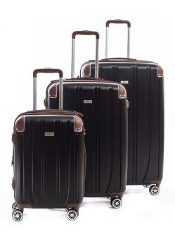 Set de 3 valises Rigides 8 roulettes Horizon2.6BI Alpini
