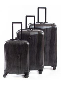 Set de 3 valises Rigides 8 roulettes Platinel Alpini