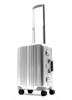 Valise aluminium cabine 8 roulettes Shield