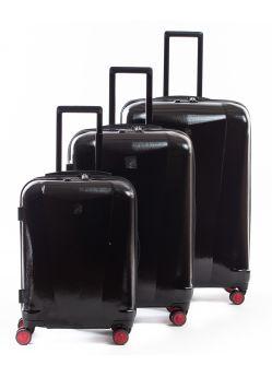 Set de 3 valises rigides 8 roulettes PlatinelE