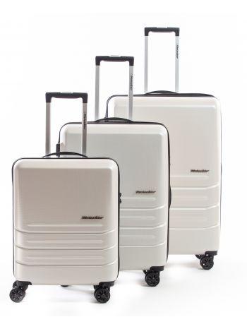 Set de 3 valises rigides 8 roulettes Carat Metzelder