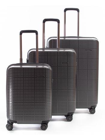 Set de 3 valises rigides 8 roulettes Galaxe Metzelder